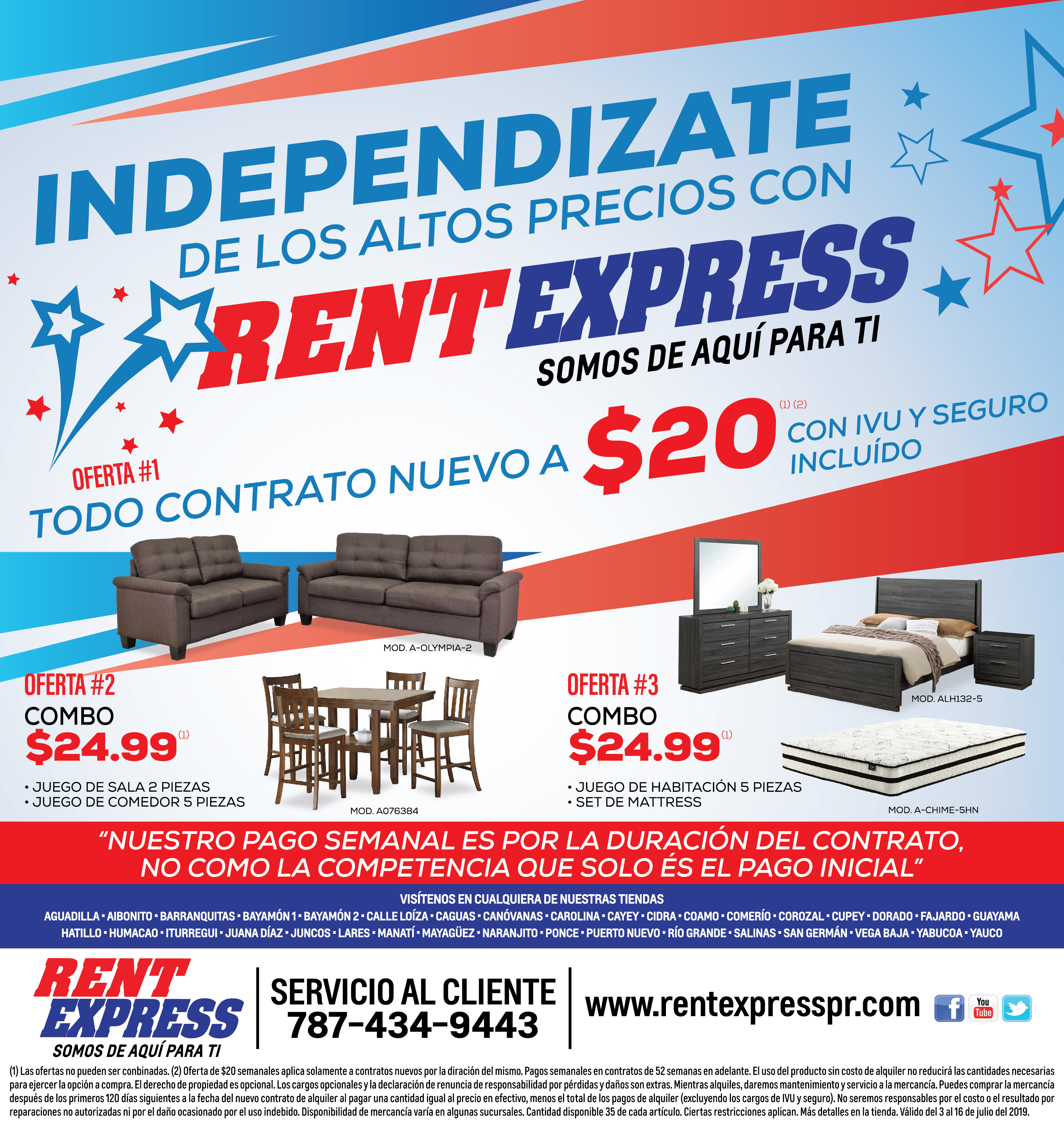 Pauta Rent Express 3 al 16 de Julio-01
